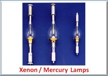 Xenon / Mercury Lamps
