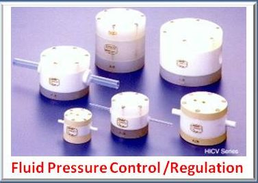 Pressure regulation