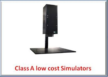 low cost solar simulator
